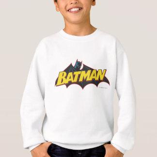 Logo de vieille école de Batman   Sweatshirt