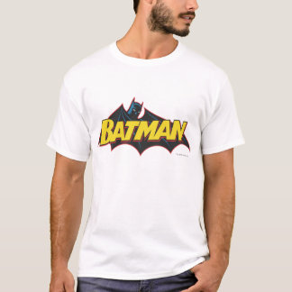 Logo de vieille école de Batman   T-shirt