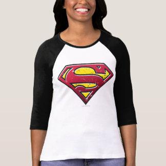 Logo d'éraflures du S-Bouclier | de Superman T-shirt