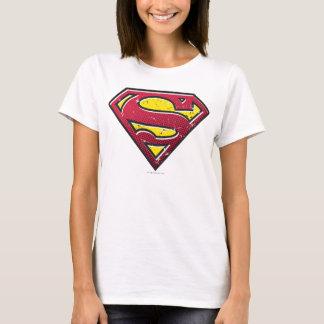 Logo d'éraflures du S-Bouclier   de Superman T-shirt