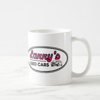 Logo des voitures d'occasion de Larry Mug