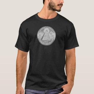 logo d'illuminati t-shirt