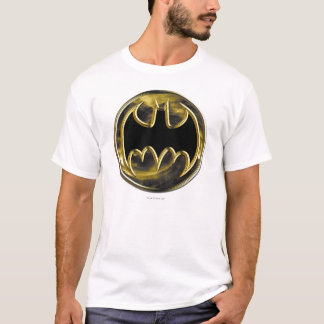 Logo d'or du symbole | de Batman T-shirt