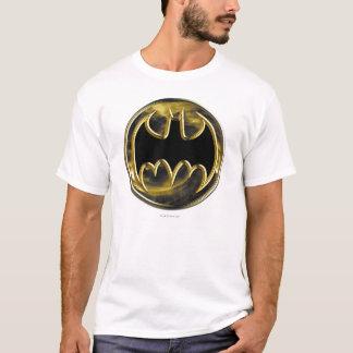Logo d'or du symbole   de Batman T-shirt