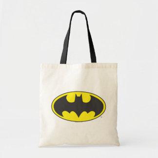 Logo d'ovale de batte du symbole | de Batman Sac En Toile Budget