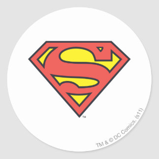 Logo du S-Bouclier   Superman de Superman Sticker Rond