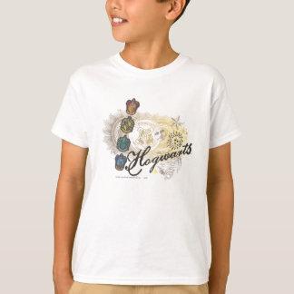 Logo et Profossors 2 de Hogwarts T-shirt