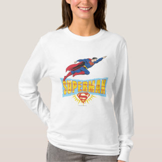 Logo et vol de Superman T-shirt