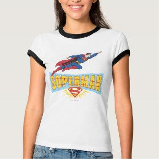 Logo et vol de Superman T-shirt