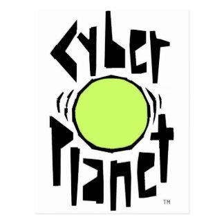LOGO GLOBAL DE COOL DE PLANÈTE DE CYBER CARTE POSTALE