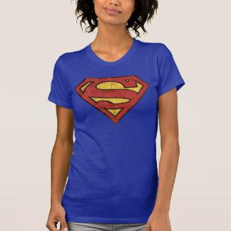 Logo grunge du S-Bouclier   de Superman T-shirt