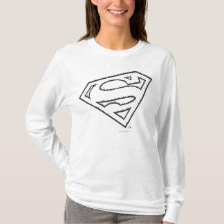Logo grunge latéral du S-Bouclier | de Superman T-shirt
