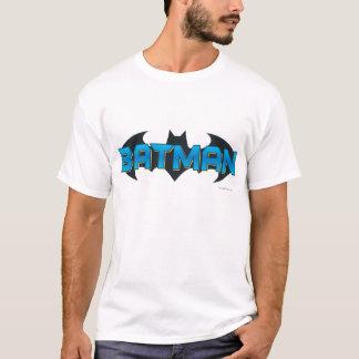 Logo nommé bleu de Batman   T-shirt