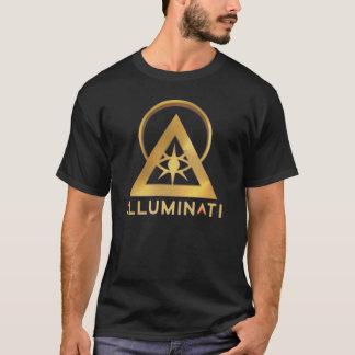 Logo officiel de site Web d'Illuminati T-shirt