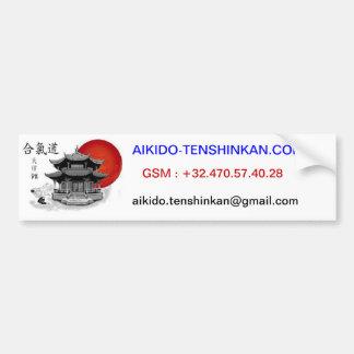 LOGO PNG.PNG, AIKIDO.TENSHINKAN.COM, BELGIQUE :... ADHÉSIF POUR VOITURE