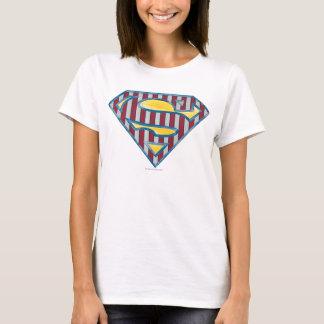 Logo rayé du S-Bouclier | de Superman T-shirt
