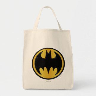 Logo rond classique du symbole | de Batman Sac En Toile Épicerie