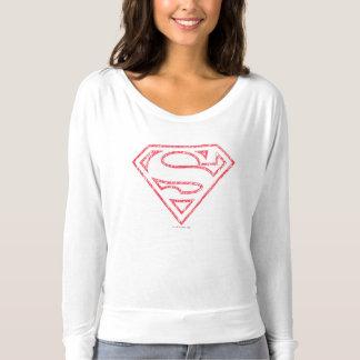 Logo rouge d'ensemble du S-Bouclier | de Superman T-shirt