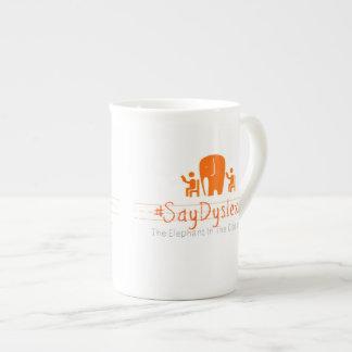 Logo simple de #SayDyslexia Mug