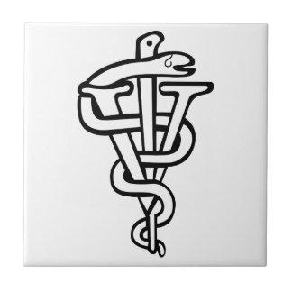 Logo vétérinaire petit carreau carré