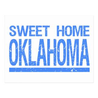 L'Oklahoma à la maison doux Carte Postale