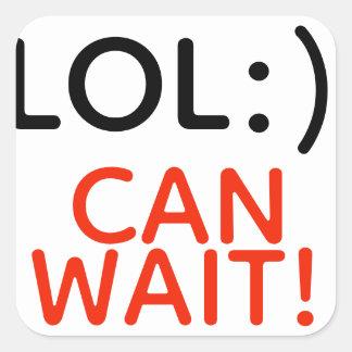 LOL :) peut attendre ! feuille de 6 autocollants