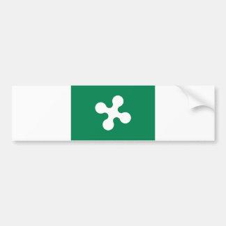 lombardia du comté de l'Italie de drapeau de régio Autocollant De Voiture