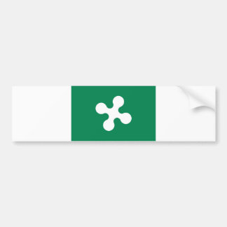 lombardia du comté de l'Italie de drapeau de régio Autocollant Pour Voiture