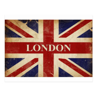 Londres - Union Jack - amour Londres d'I Carte Postale