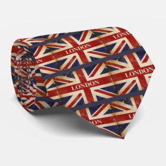 Londres - Union Jack - amour Londres d'I Cravate