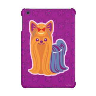 Long chien de bande dessinée de Yorkie de cheveux