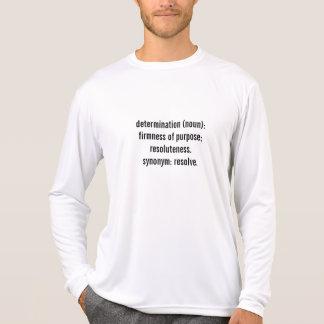 Long-Douille de technologie de détermination T-shirt
