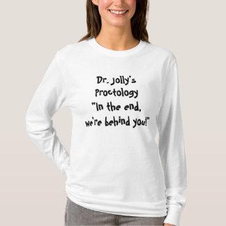 Long T-shirt D0009 de la douille des femmes peu
