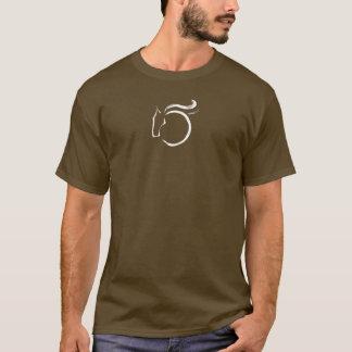 Long T-shirt de base de douille de Windhorse