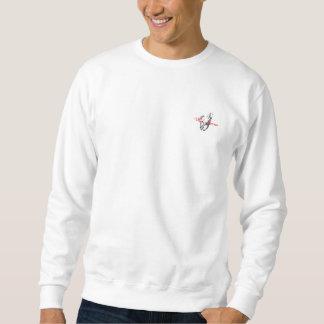 Long T-shirt de douille de chevaux sauvages pour