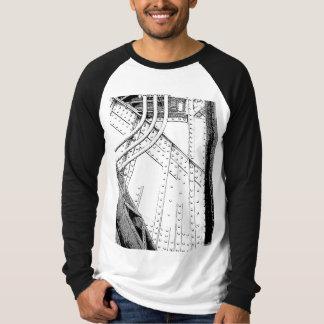 Long T-shirt de douille de conception industrielle
