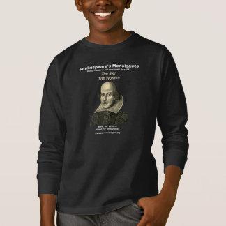 Long T-shirt de la douille des enfants