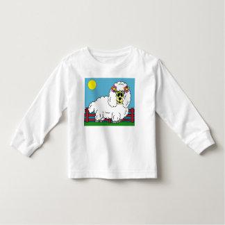 Long T-shirt de sleve d'enfant en bas âge