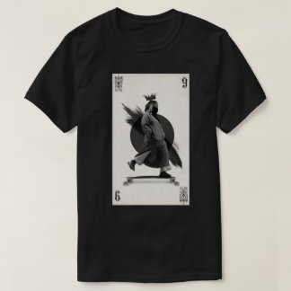 longboard player t-shirt