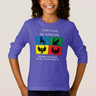 Longsleeve : Académie de minette avec la devise T-shirt