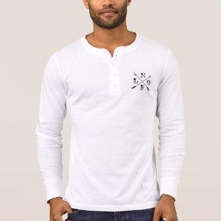 Longue chemise de douille d'enterrement de vie de t-shirt