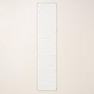 """Longue écharpe de mousseline de soie, 10"""" x 45"""""""
