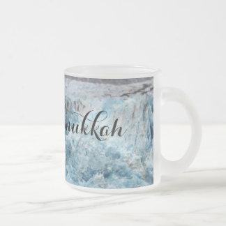 Longue tasse bleue de glacier