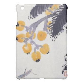 Loquats et une sauterelle étuis iPad mini