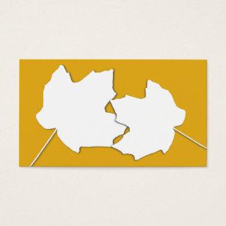 L'or d'érable, deux feuilles masquent des cartes