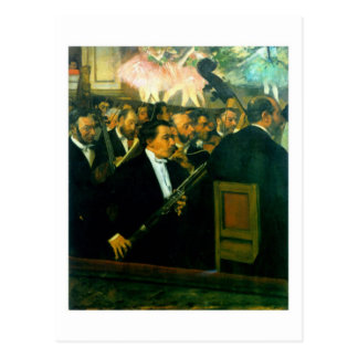 L'orchestre de la carte postale d'Opéra