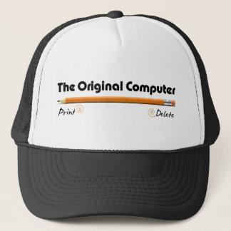 L'ordinateur original casquette