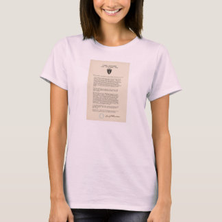 L'ordre de Dwight David Eisenhower du jour (1944) T-shirt