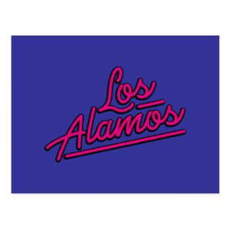 Los Alamos en magenta Carte Postale