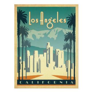 Los Angeles, CA 2 Carte Postale
